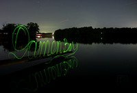 Damon Bay Lightpainting