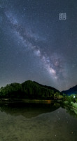 Milky Way Reflection Dfraw_1397 Photojiku small Hanko