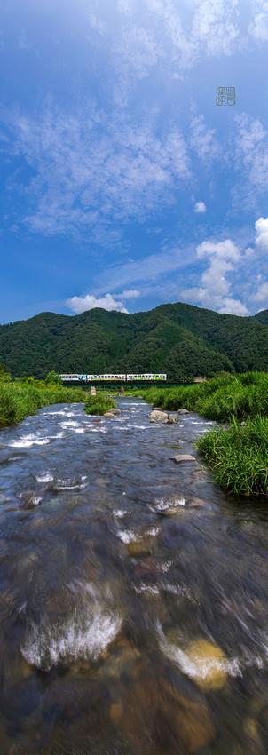 川の中から鉄道 AIR29フォト軸